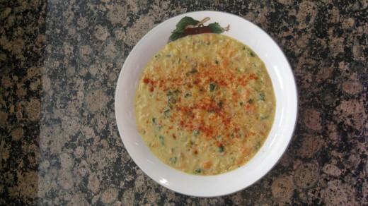 Creamy Vegi Chowder