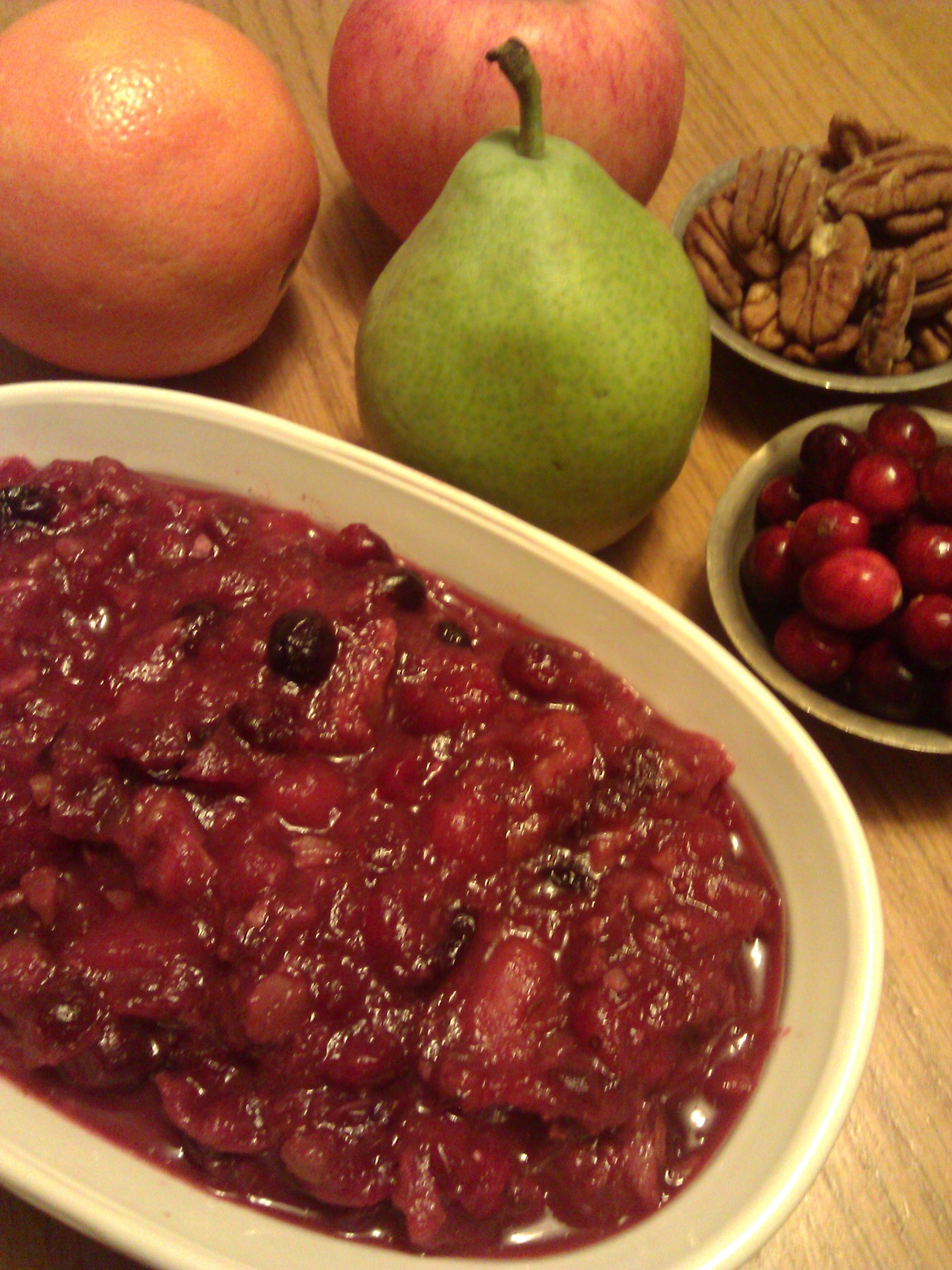 VVP: Cranberry Maple Compote | Good Clean Food