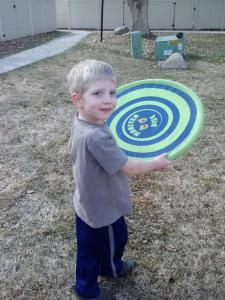 Green frisbee (Medium)