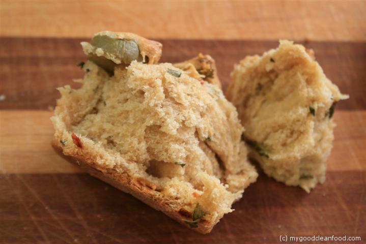 VVP herbed kale bread 10